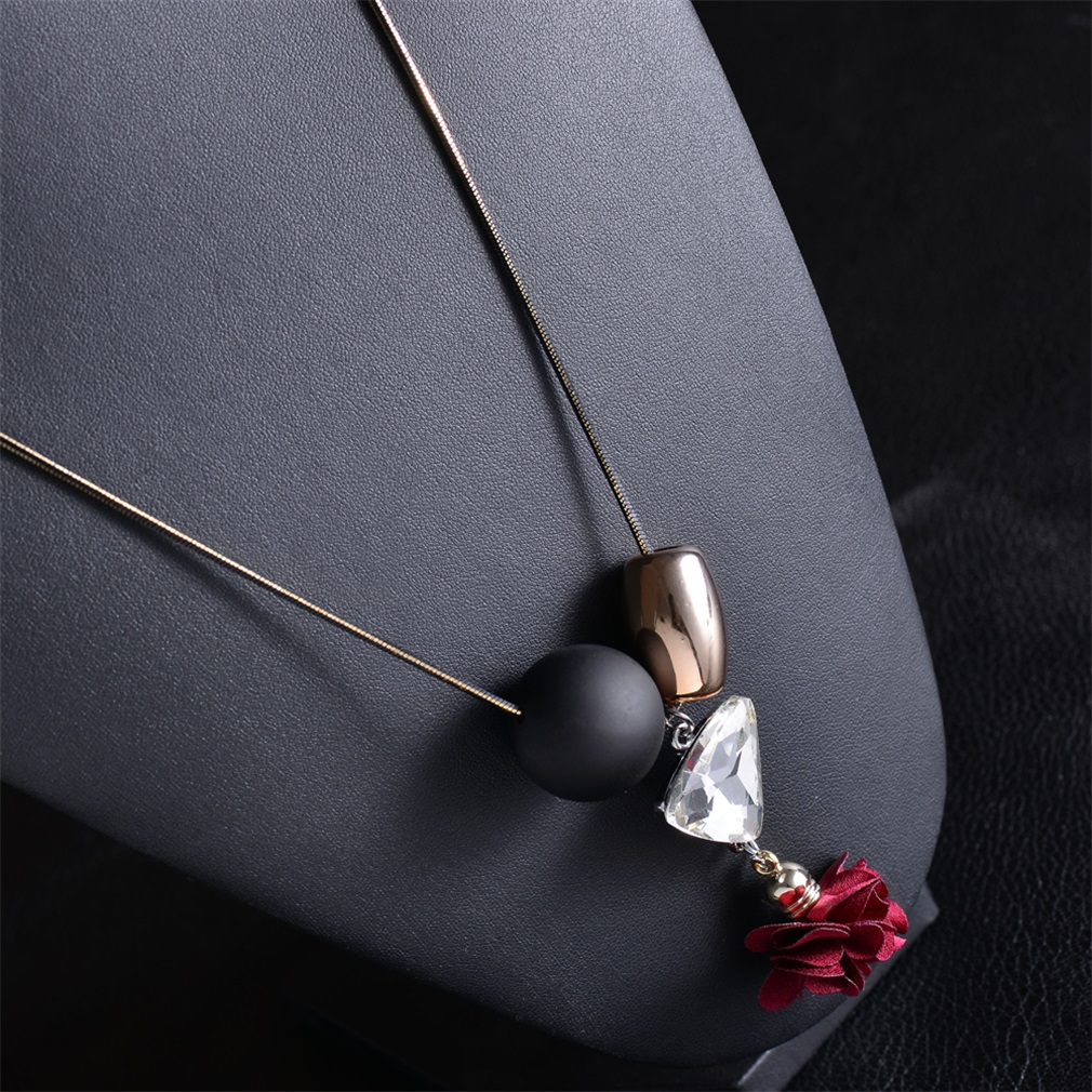 Unique Women Necklace Durable For Use Lady Female Sweater Necklace Jewelry