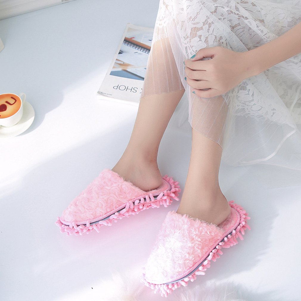 Winter Anti-skid Casual Indoor Detachable and Washable Slippers Unisex