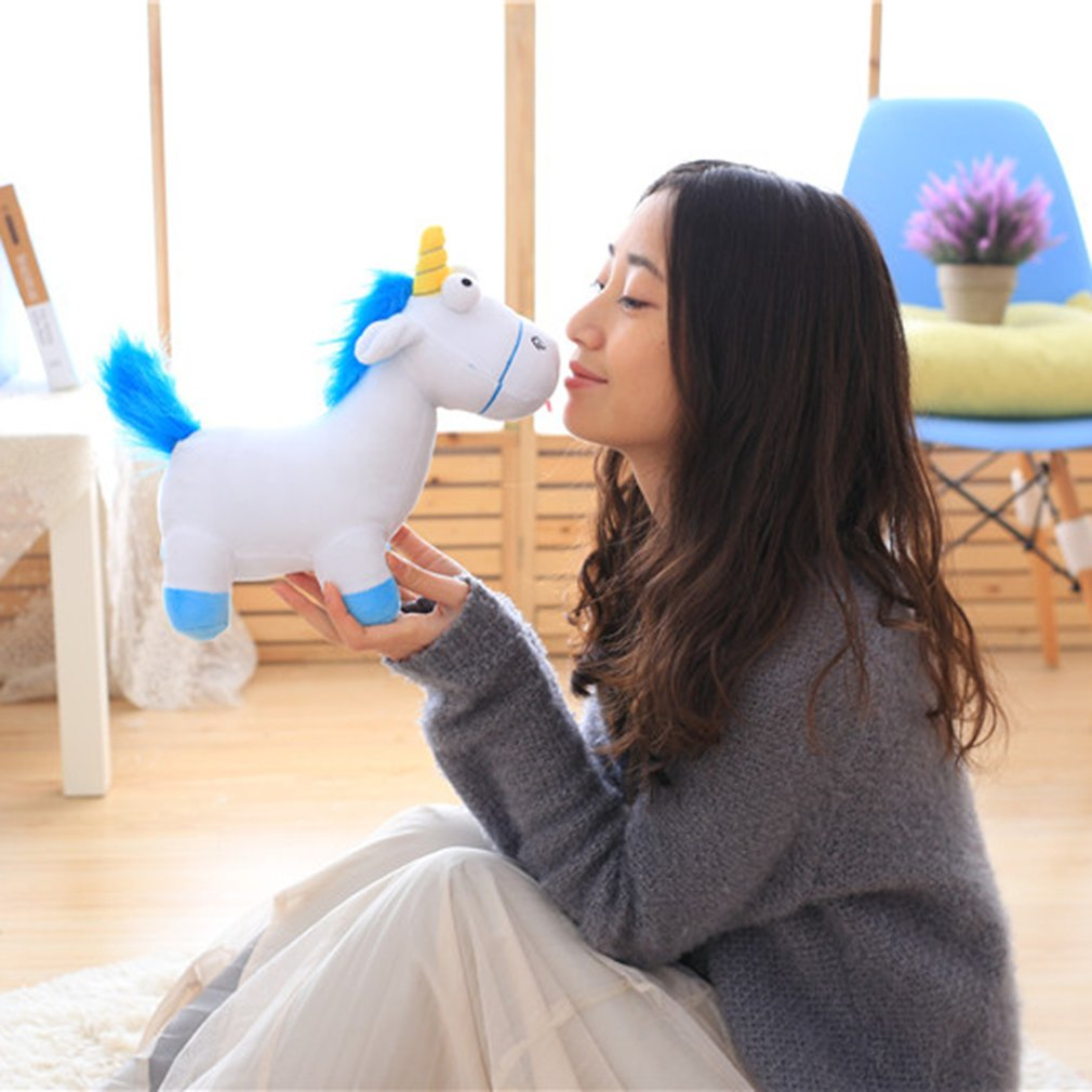 Lovely Unicorn Soft Stuffed Plush Doll Toy Horse Kids Toy Birthday Gift