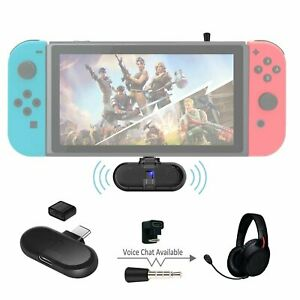 GuliKit Route+ PRO Bluetooth Transmitter Compatible Nintendo Switch with Voice