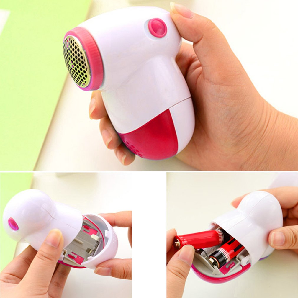 Household Mini Electric Fuzz Fabric Remover Sweater Wool Ball Shaving Tool