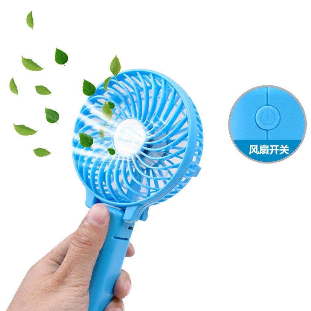 New Mini 3 Gear Speed USB Handheld Battery Rechargeable Multifunctional Fan