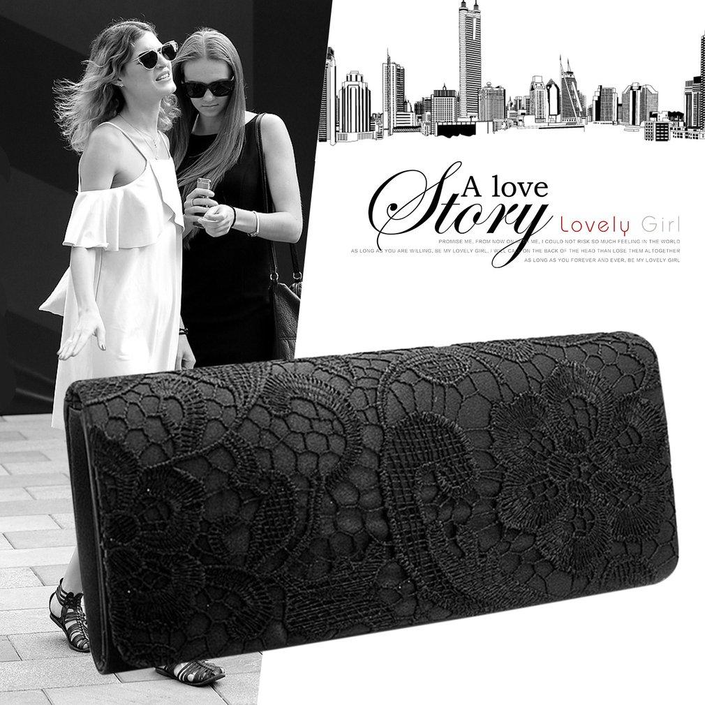 Luxury Design Silks And Stains Women Clutch Bag Evening Party Handbag Purse