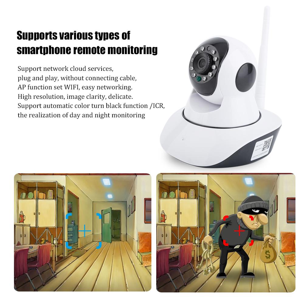 Wireless Intelligent Network Camera 5200 720P/5200S 960P IP Camera