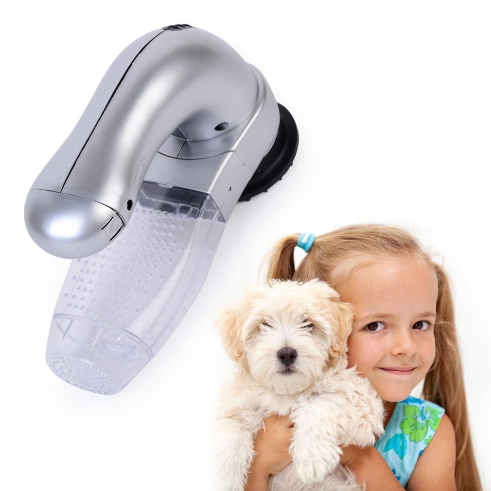 Electric Pets Dogs Cats Hair Fur Remover Shedd Grooming Brush Comfortable Pets Fur Cleaner Trimmer Massager Pets Supplies