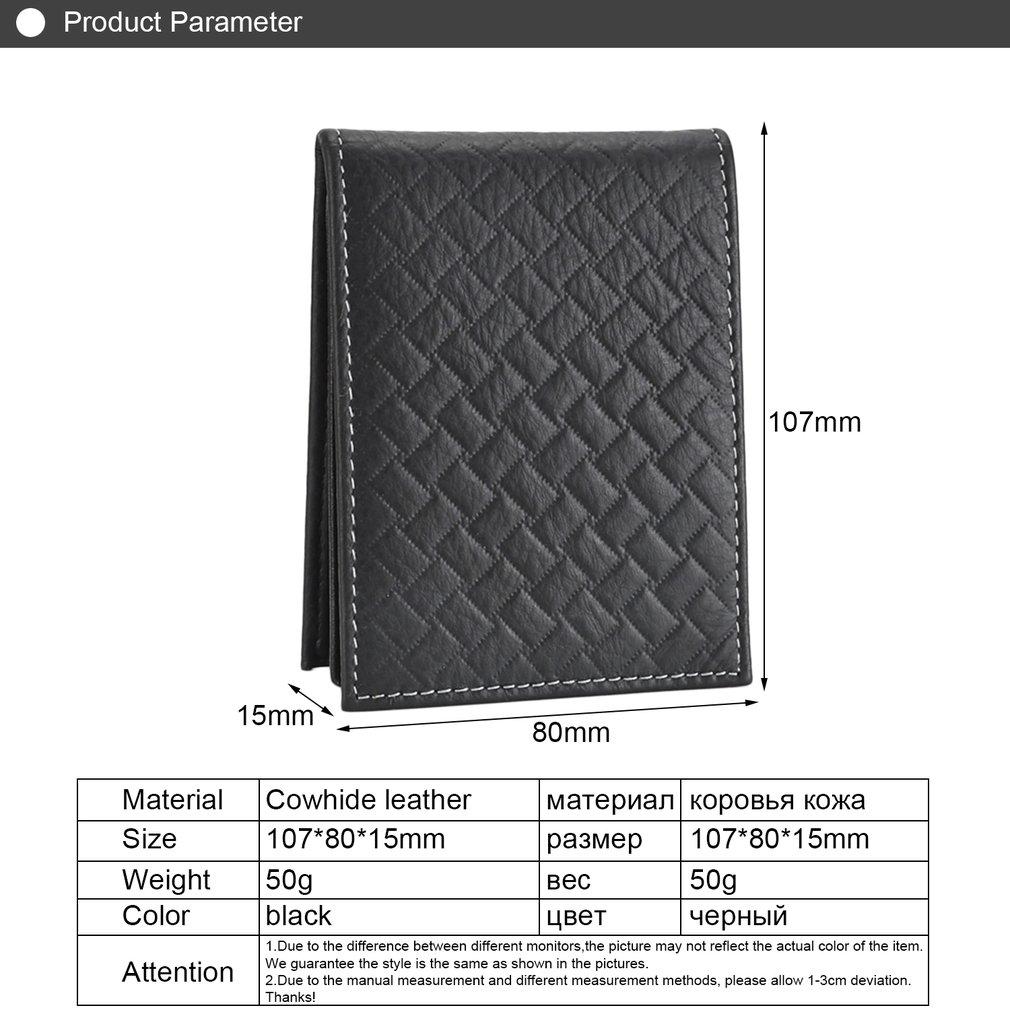 GD5235-JSA Genuine Leather Cowhide Driving License Folder Case Card Holder