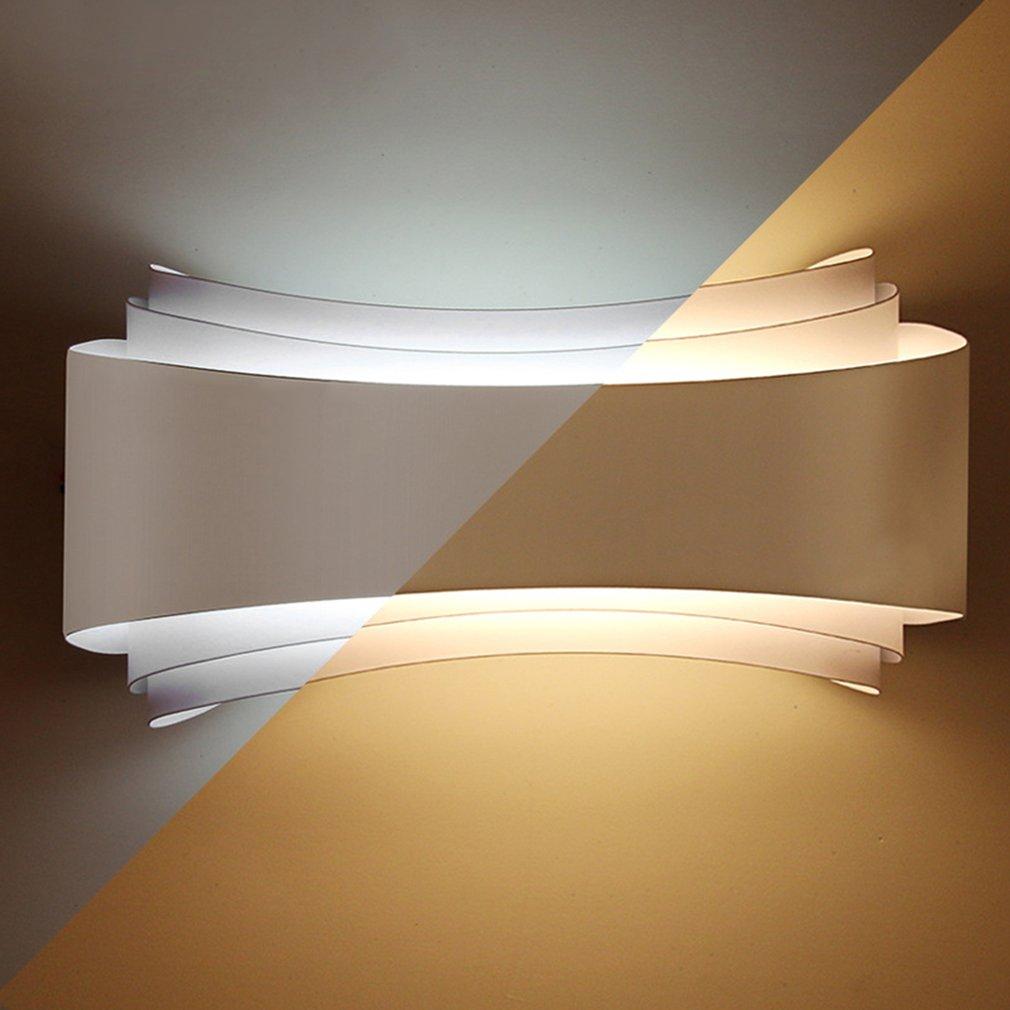 Modern Minimalism Led Wall Lights Hotel Living Room Aisle Bedside Wall Lamps