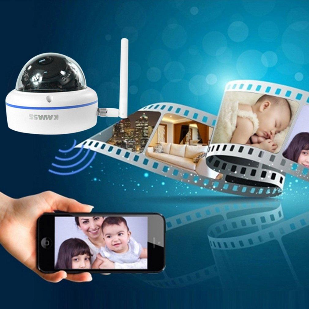 KAVASS P2P 2.0MP Network Wireless IP 720P Security Camera NVR CCTV System