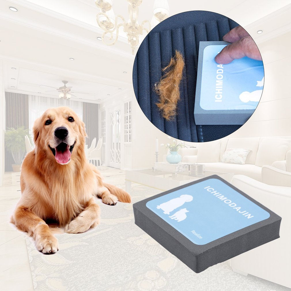 Pet Fur Clean Hair Removal Device Pet Sticky Hair Carpet Sofa Clothing Dusting Brush Bristles Device Anti-static Hair Removal