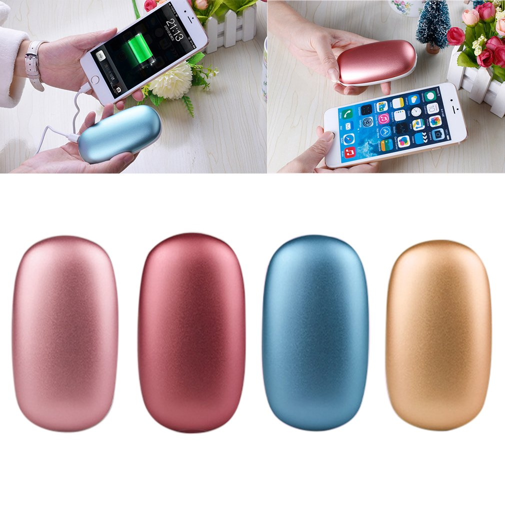 2 in 1 Cute USB Rechargeable Protable Handwarmer & 4000mA Power Bank 5V 1A