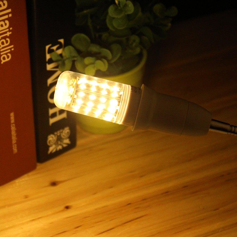E27 7W White/Warm White Light CRI>80 56 LED SMD 4014 Corn Light Bulb 220-240V