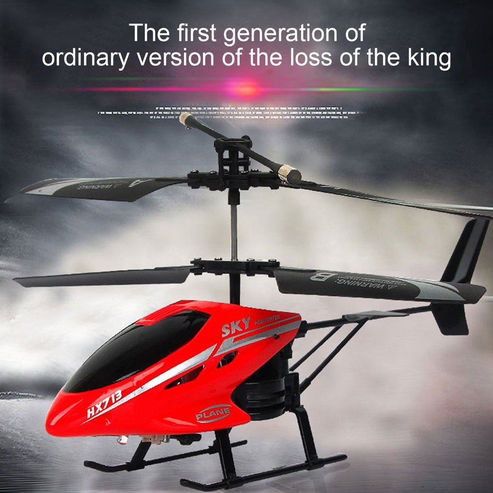 Remote Control Helicopter Toys 2.5 Channel Shatterproof Fine Gift For Kids