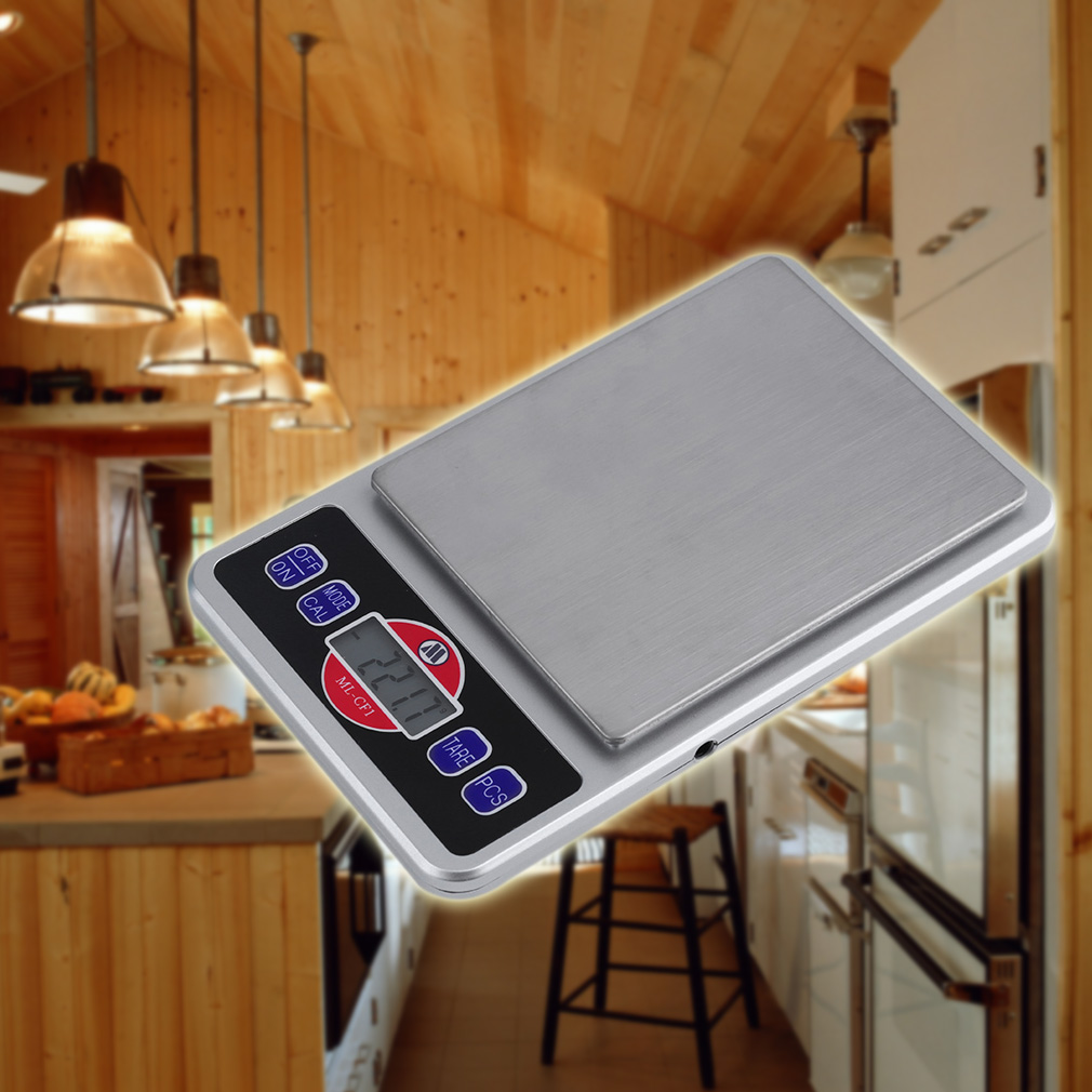2000g/1000g LCD Portable Kitchen Weight Scale Digital Electronic