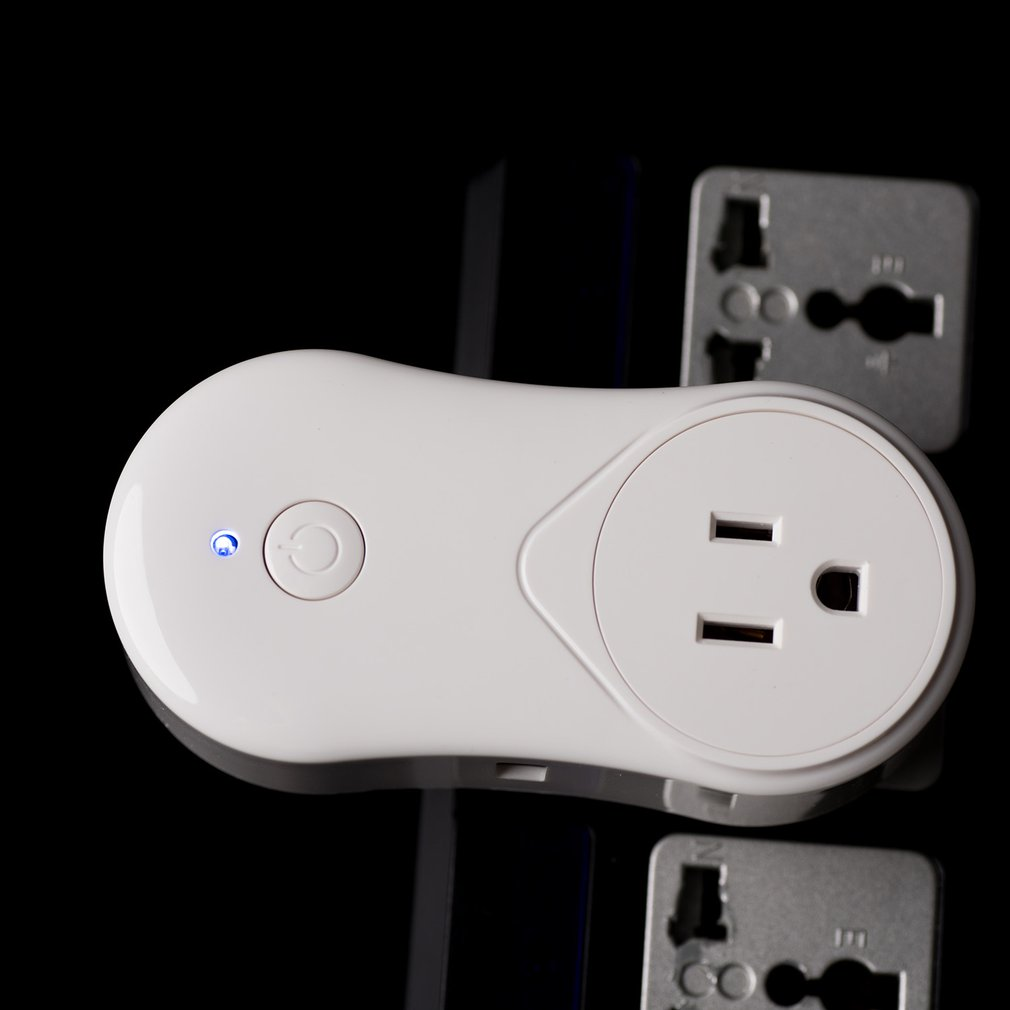 Intelligent WiFi Timer Socket Houshold Office Remote Control Power Switch US