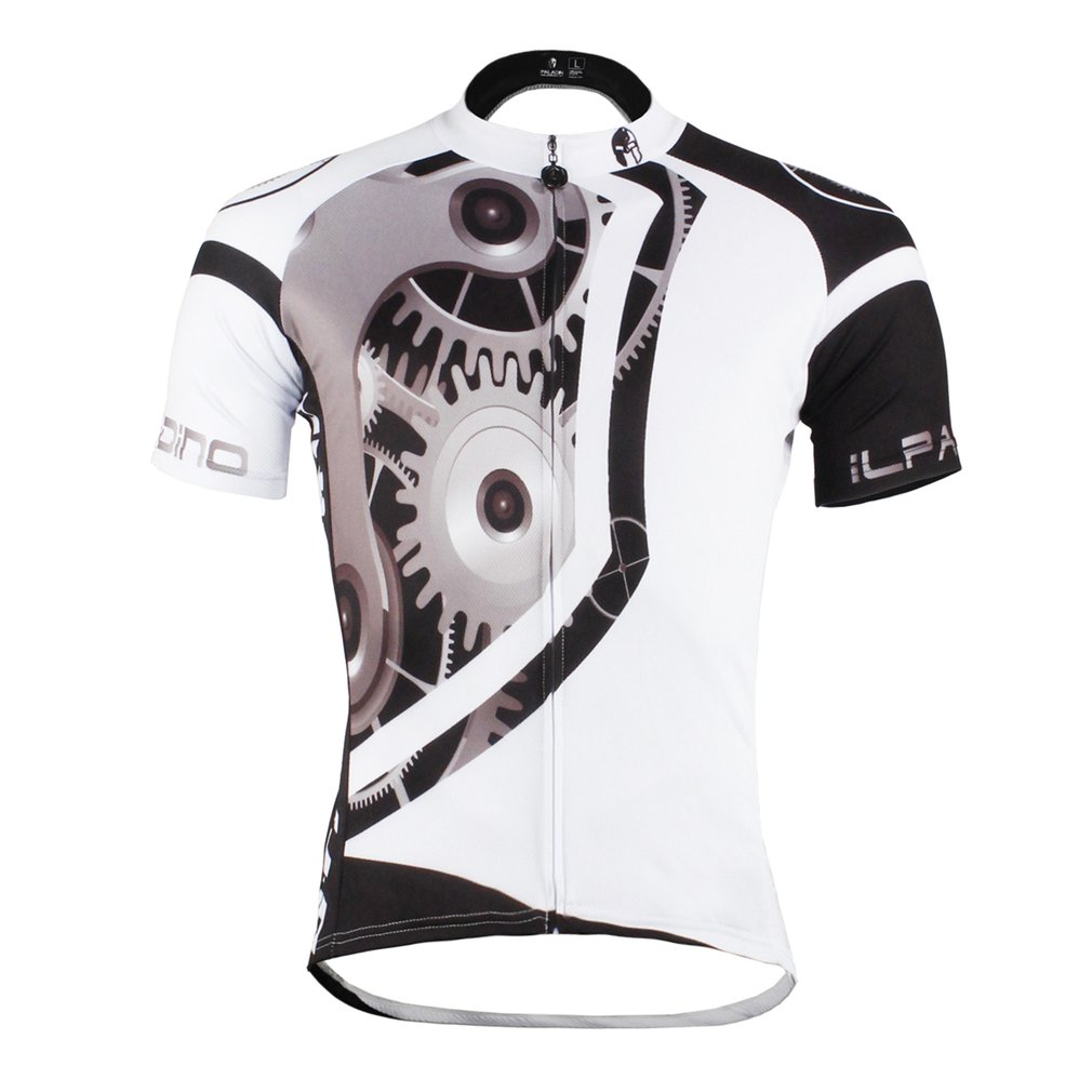 Breathable Bicycle Clothing Man Riding Cycling Short Sleeves Jersey Tops