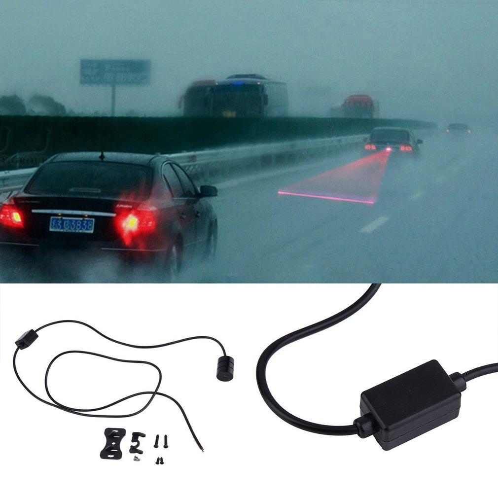 Auto Car Laser Fog Light Rear Anti-Collision Rear Taillight Warning Signal Lamp