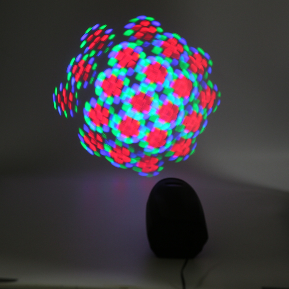 LED Pinspot Light Moonflower For DJ Disco Party Club Wedding Stage Light RGB