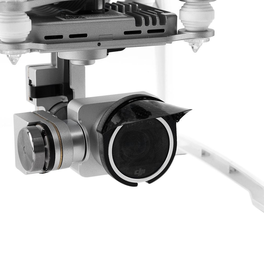 Carbon Fiber Camera Lens Protector Petal Sun Hood Sunshade For Phantom 3