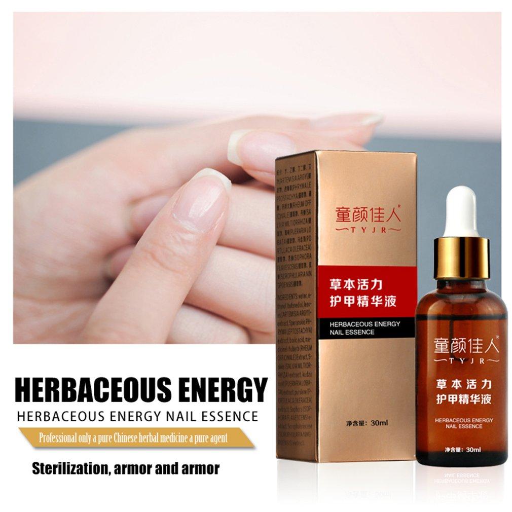 30ML Portable Size Natural Nail Care Essence Liquid Finger Toe Repair Oil