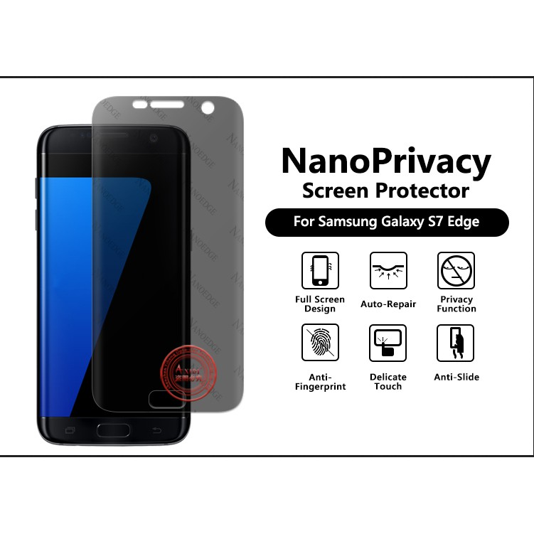 Samsung S7Edge Privacy Flexible Soft Screen Protector film