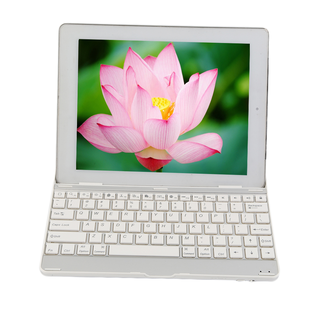 Ultra-thin Aluminum Wireless Bluetooth Keyboard Suitable For ipad 2/3/4
