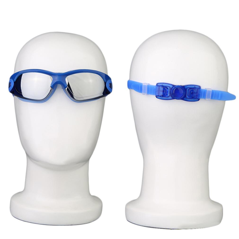 Resistance WaterProof Swim Glasses Electroplating AntiFog Swim Goggles