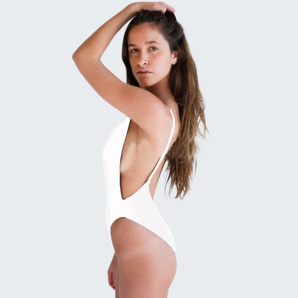 White/Black Sexy Swimwear Women's Push up Swinsuit Beach Wear Bikini