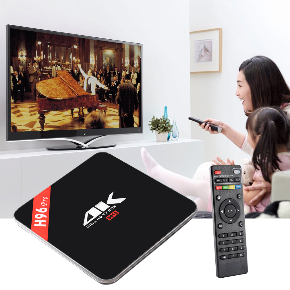 H96 Pro 3G+16G Amlogic S912 Octa Core ARM Cortex-A53 CPU TV Box For Android