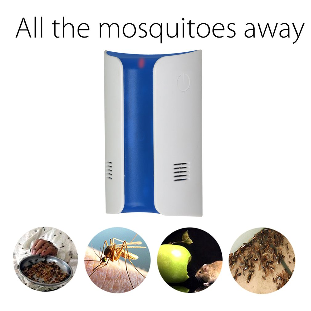 Ultrasonic Anti-Mosquito Device With Electromagnetic Wave Wall Plug Type Insecticidal Machine Mosquito Dispeller CWD-A09