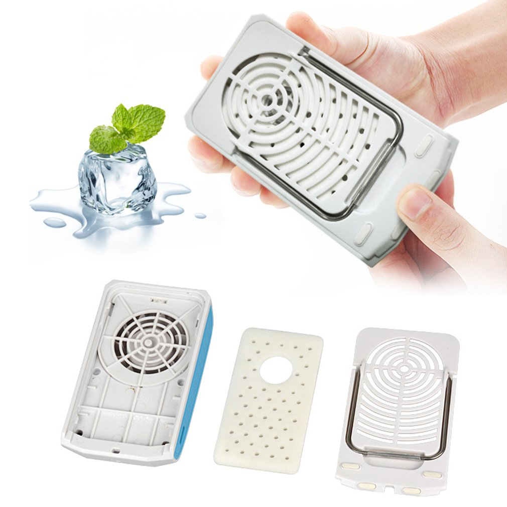 Suspension CarMini USB Rechargeable HandHeld Air Conditioner Summer Cool Fan
