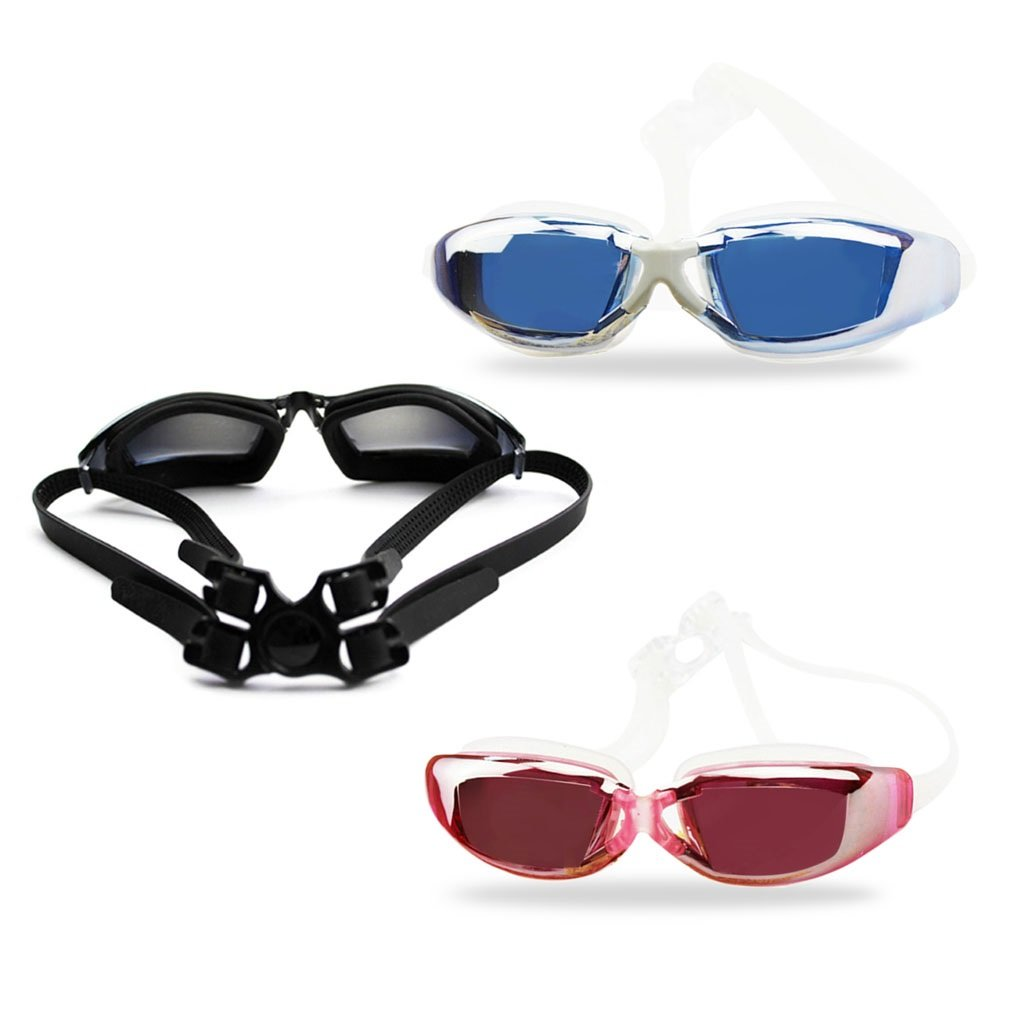 Professional Plating Anti-fog Waterproof Protection Swimming Goggle Glasses