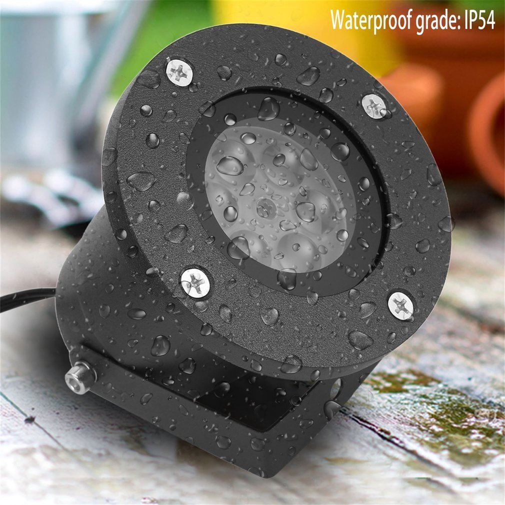 Holiday Decoration Waterproof Outdoor Laser Projector Snowflake LED Stage Lamp