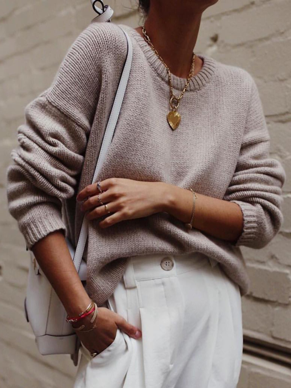 Apricot Knitted Long Sleeve Casual plus size Sweater