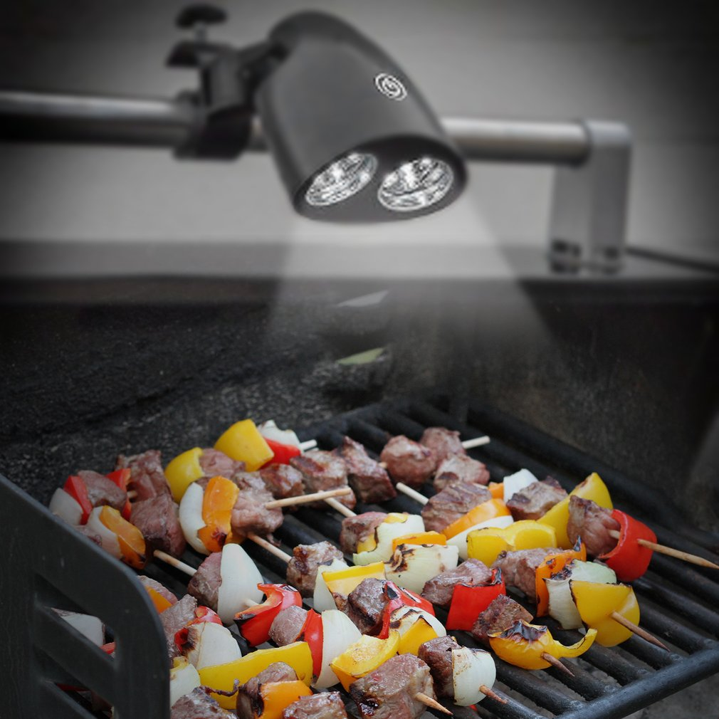 Outdoor Barbecue 10 LED Grill Light Touch Sensitive Switch Grill Light Lamp