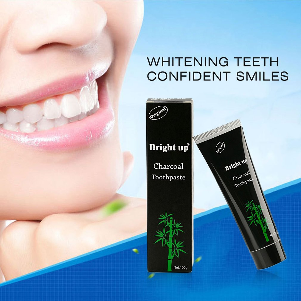 Natural Tooth Care Whitening Oral Hygiene Mint Bamboo Charcoal Toothpaste