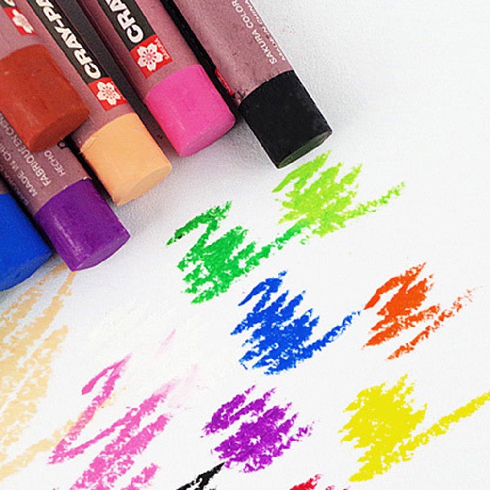 50 Colors/SET Children Drawing Pen Non-Toxic Oil Pastel Crayons Art Pen