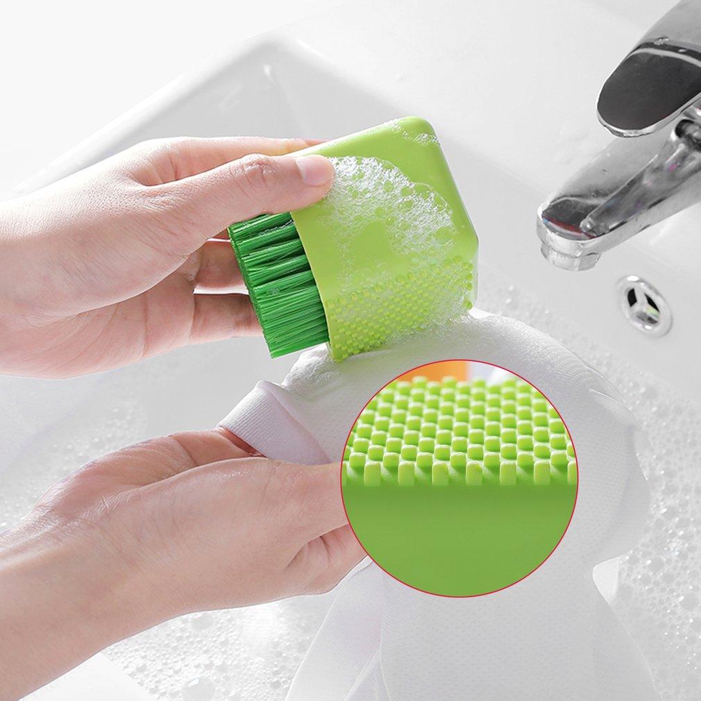 INNERNEED Unique Pot-shaped Silicone Washing Brush Handheld Laundry Washboard