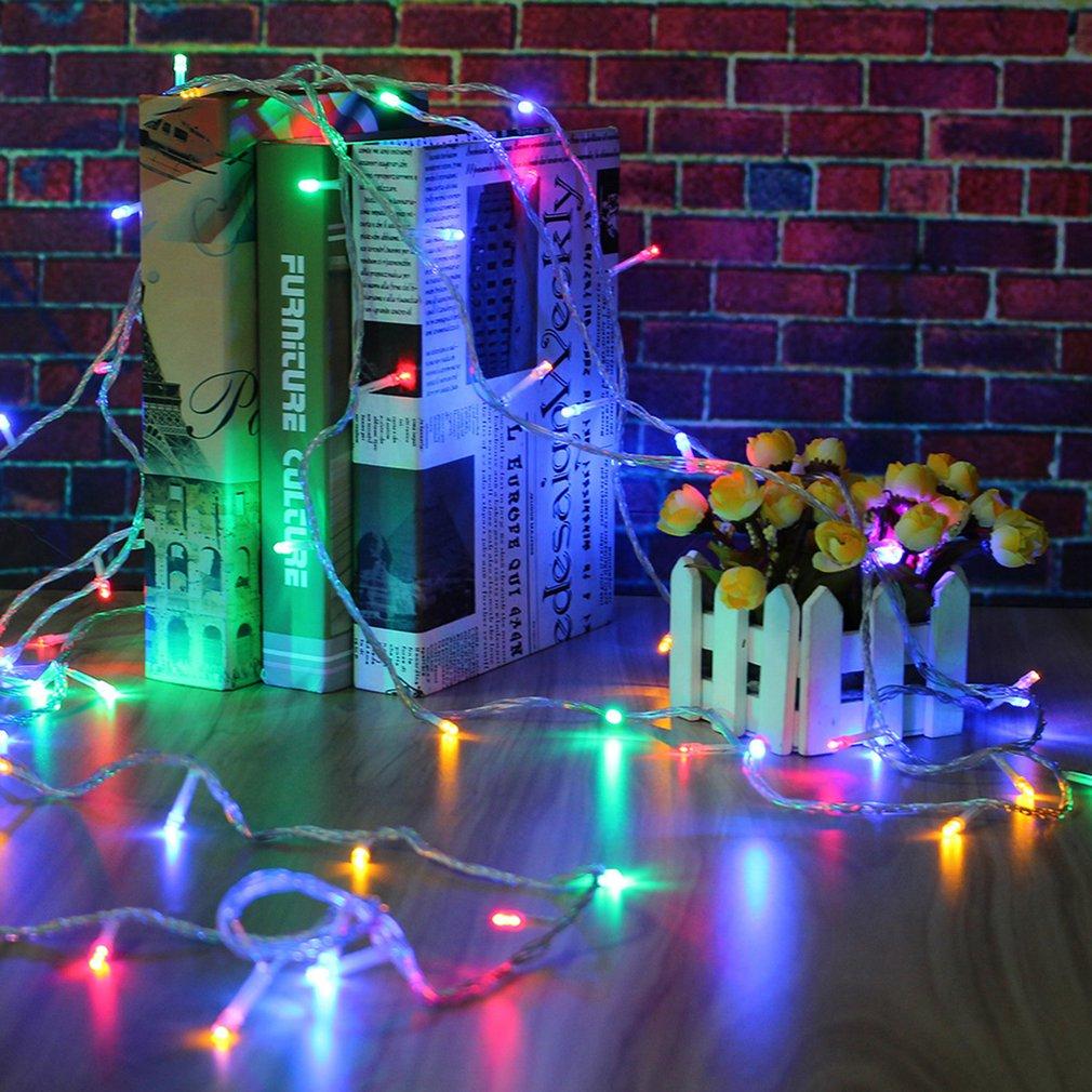 10M 100 LED Lights Party Festival Decoration String Light EU Plug Accessory