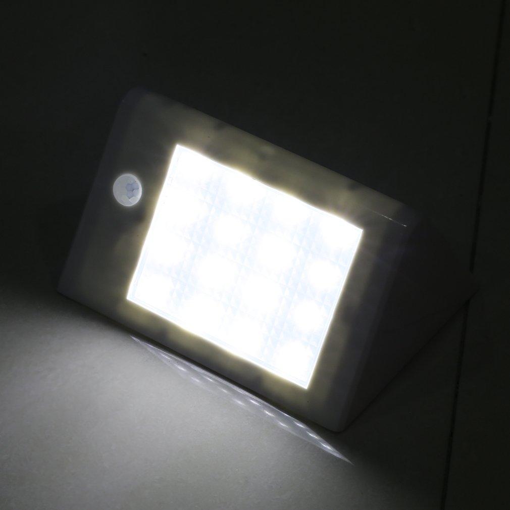 16 LED Solar Power Light 2.5W garden lamp Infrared Induction Bright XY-SL02