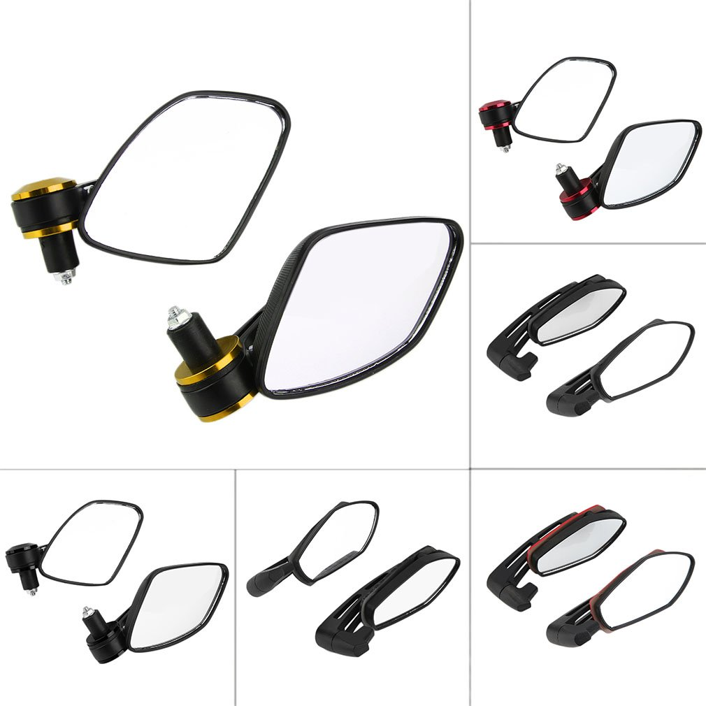 Six Colors Trendy New Motorcycle Aluminum Bar End Side Rearview Mirrors