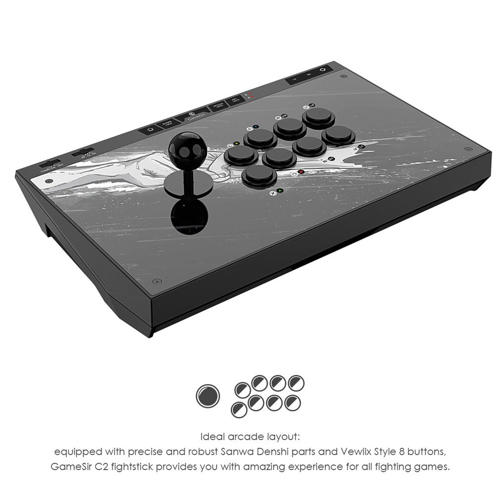 Universal Game Controlling Deck with Multifunctional Toggle for Mobile Games