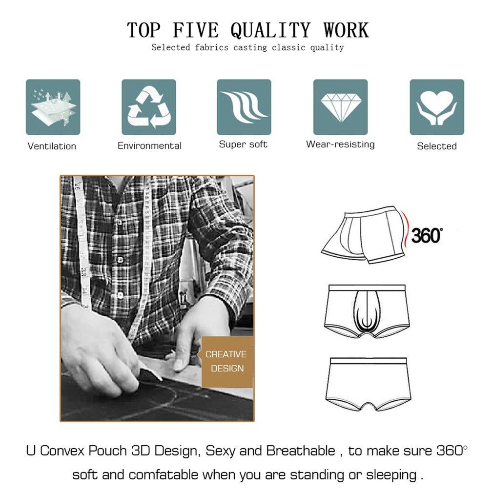 Orlvs Men Underpants Breathable Pure Natural Cotton Brief Sexy Male Underwear
