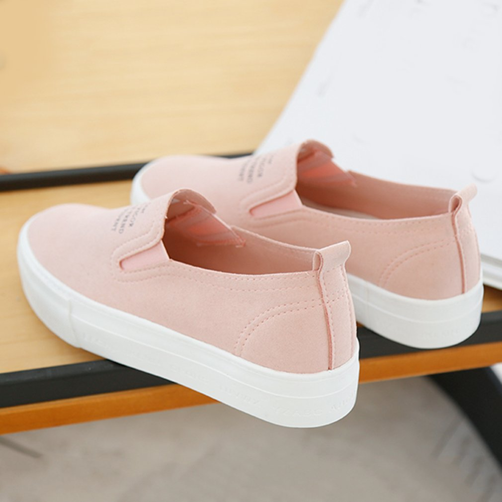 Renben 8599 Classic Thick Soled Flatform Low-cut Flat Shoes Breathable Loafers