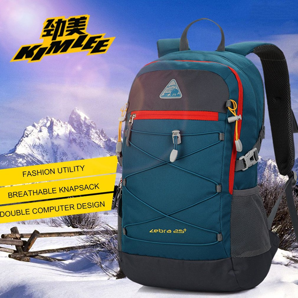 Leisure and Travelling Backpack Computer and School Bag Fits Male and Female