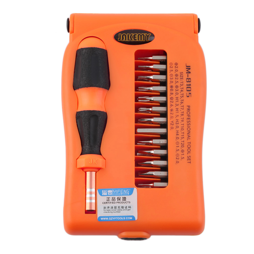 27 in 1 Screwdriver Repair Tools Set for Installed Disassemble JAKEMY JM-8105