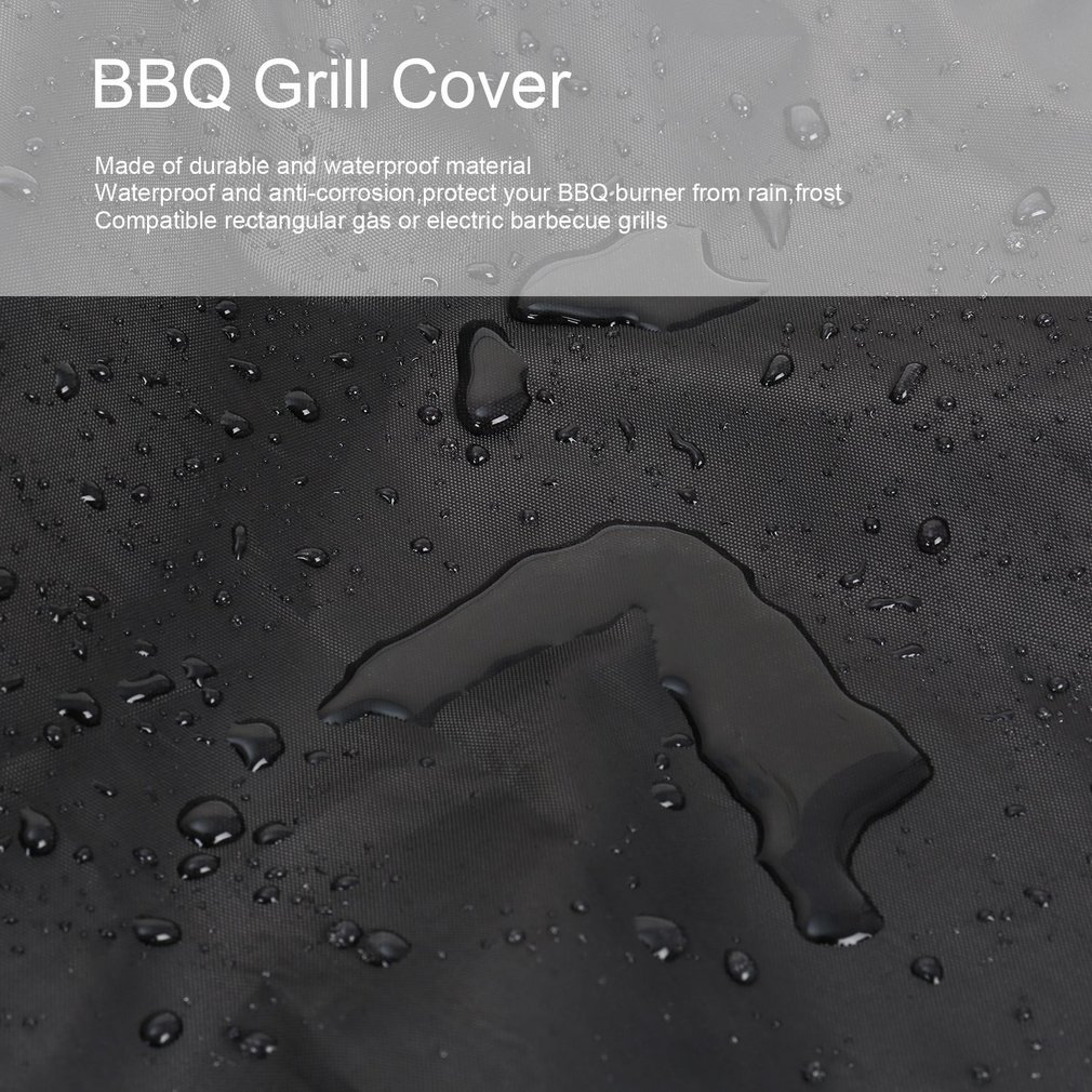 210D Outdoor BBQ Grill Covers Gas Heavy Duty Barbecue Grill Accessories