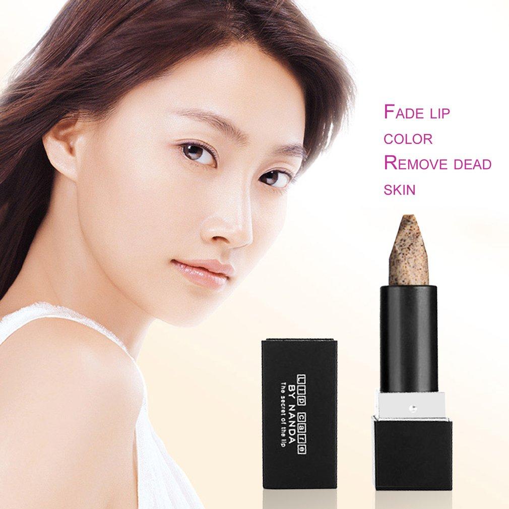 by nanda Exfoliating Lips Scrub Stick Deep Cleansing Lip Care Repaired Cream
