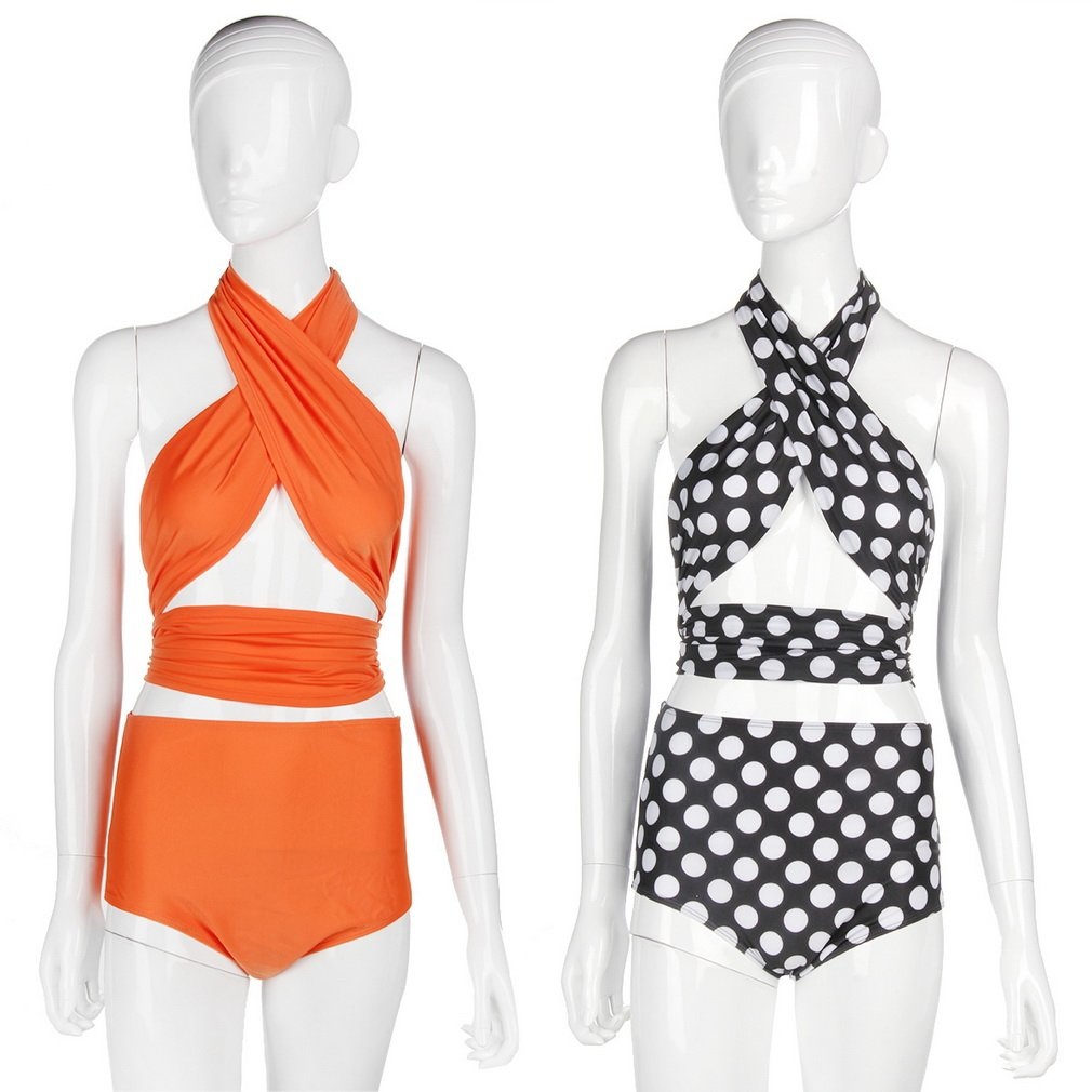 Charming Female Bikini Swimsuit Women Swimming Suit High Waist Swimwear