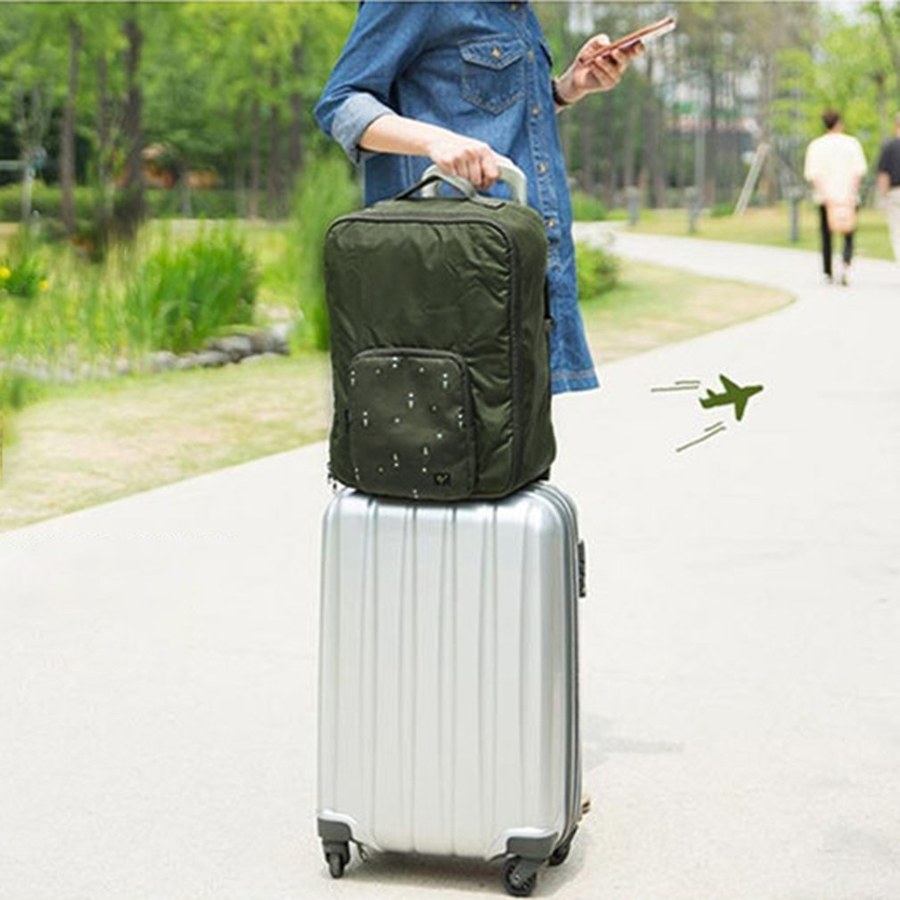 Foldable Luggage Handbag Large Capacity Shoulder Bags Outdoor Traveling Bag