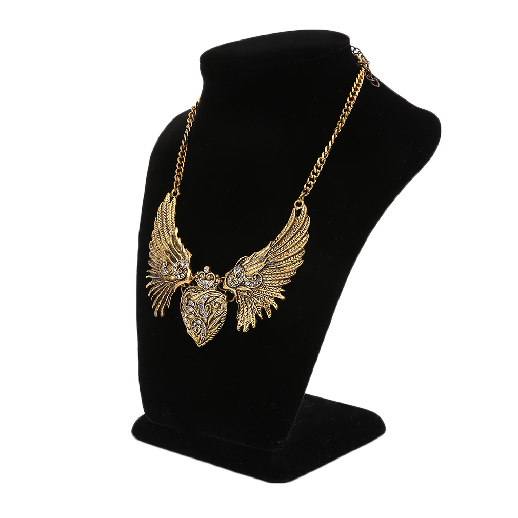 Charming Women Heart Wings Design Necklace Special Nacklace Pendants For Women
